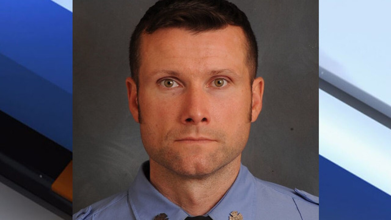 Firefighter dies battling fire on set of movie in New York