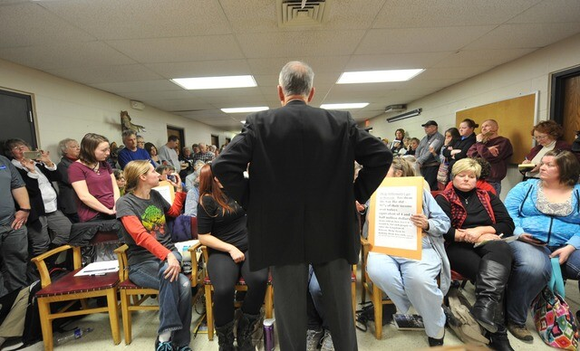 Gallery: Town halls filled as GOP considers Obamacare repeal