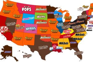 Most popular Halloween candy? Every state has a favorite