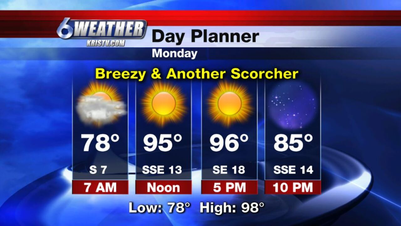 6WEATHER Day Planner for Monday 8-12-19.JPG