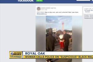 "Woman calls cops on ""suspicious"" Black man in Royal Oak"