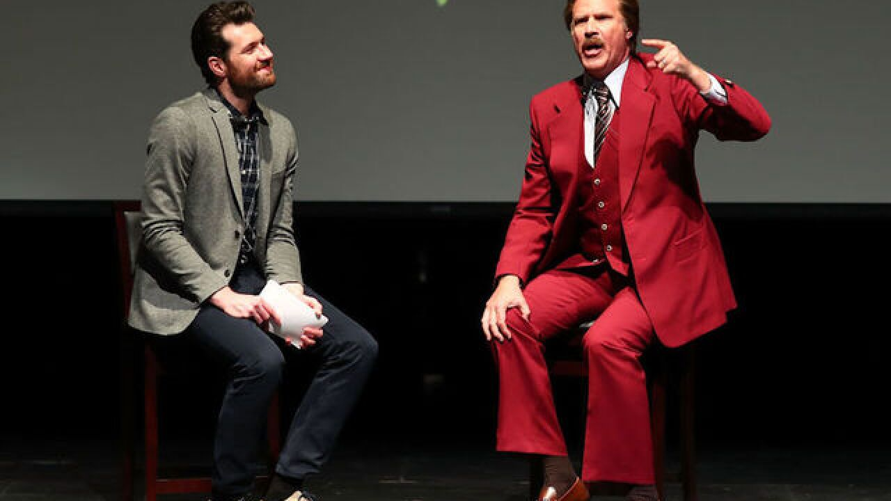 Comedian Will Ferrell in serious crash