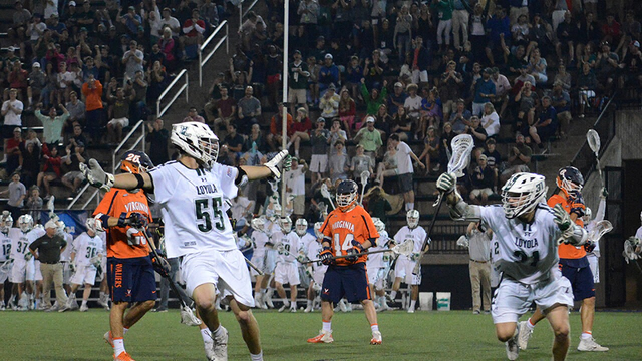 Loyola outruns Virginia in NCAA Men's Lacrosse Tournament's First Round