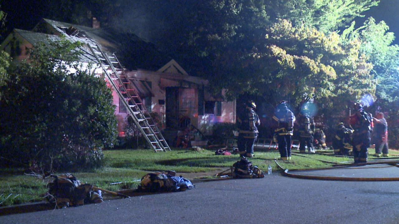 Firefighters respond to house fire inHampton