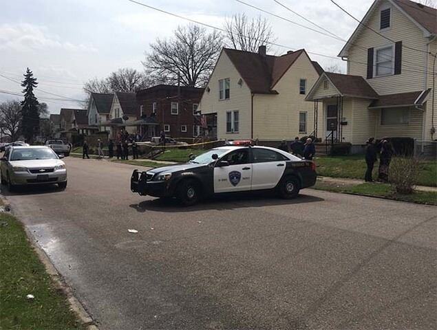 Scenes from a tragedy: Quadruple shooting leaves Canton neighborhood in shock, mourning
