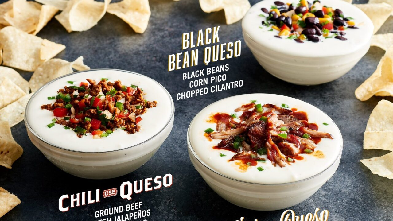 Moe's Southwest Grill adding three new types of queso to menu