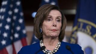 Pelosi defends speech-ripping as protesting 'falsehoods'