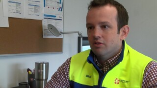 Republic Services general manager Mike Cross