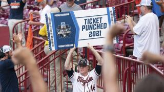 Virginia staves off elimination for 6th time to reach CWS