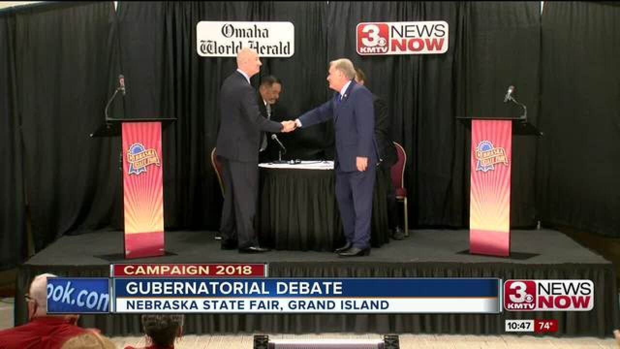 Candidates trade jabs during Gubernatorial...
