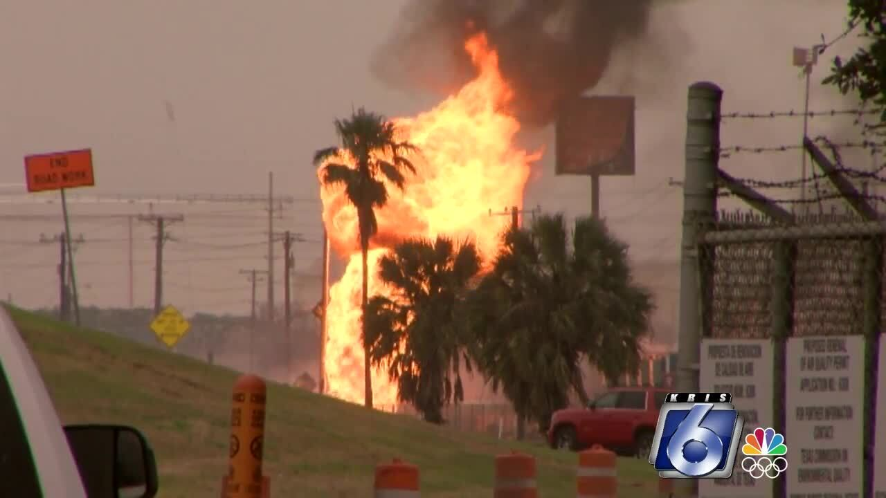 Texas Railroad Commission will prove fire at Interstate 37 and Buddy Lawrence