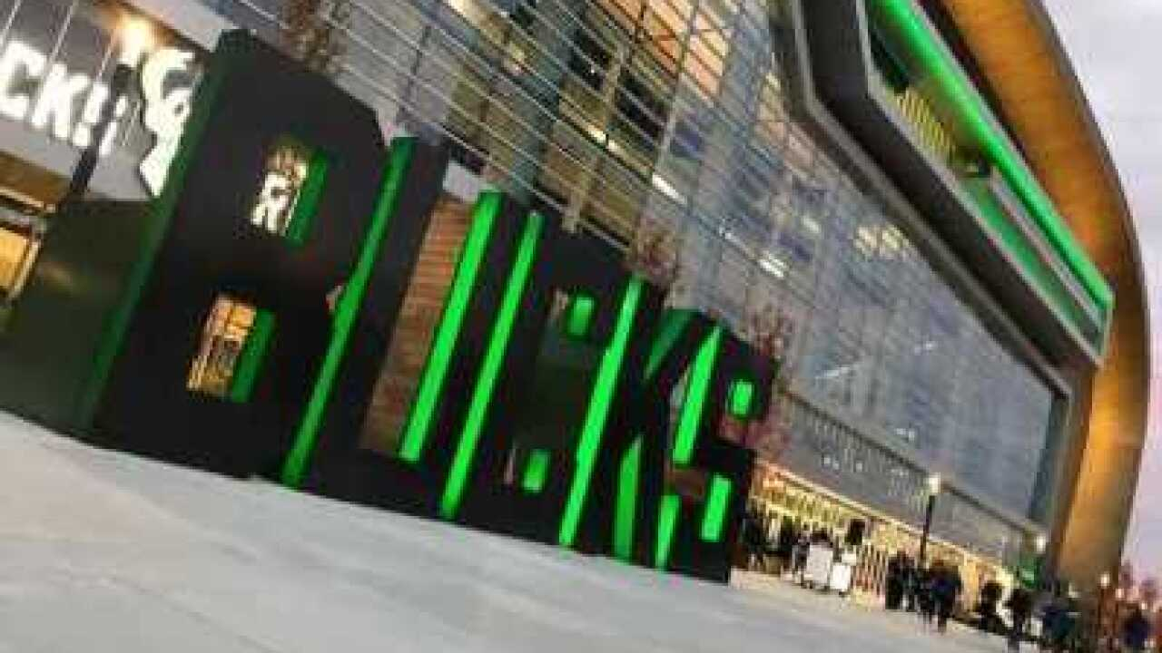 Bucks Fiserv Forum Plaza