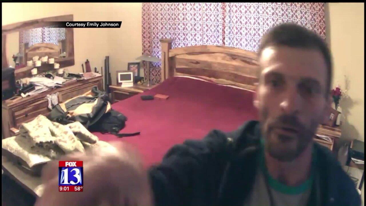 Suspect caught on camera while burglarizing Ogdenhome