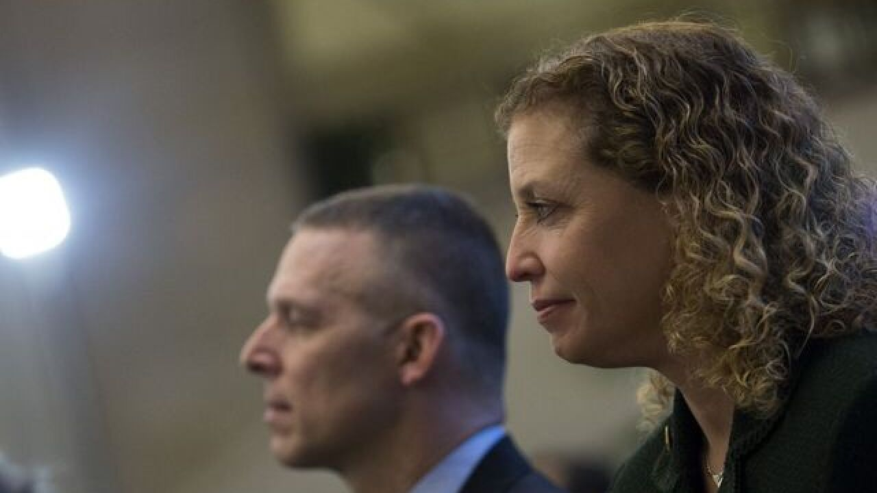 Debbie Wasserman Schultz will step down as DNC chair following convention