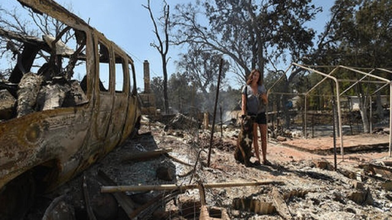 Man arrested for sparking fire that destroyed Calif. town
