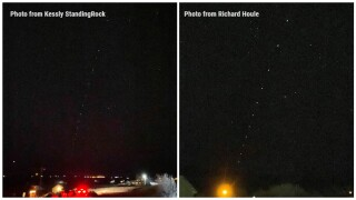 Strange lights seen in the sky in northern Montana are likely SpaceX 'Starlink' satellites