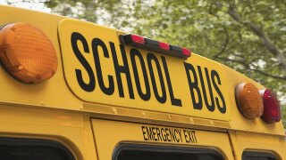 Man transformes school buses into homes