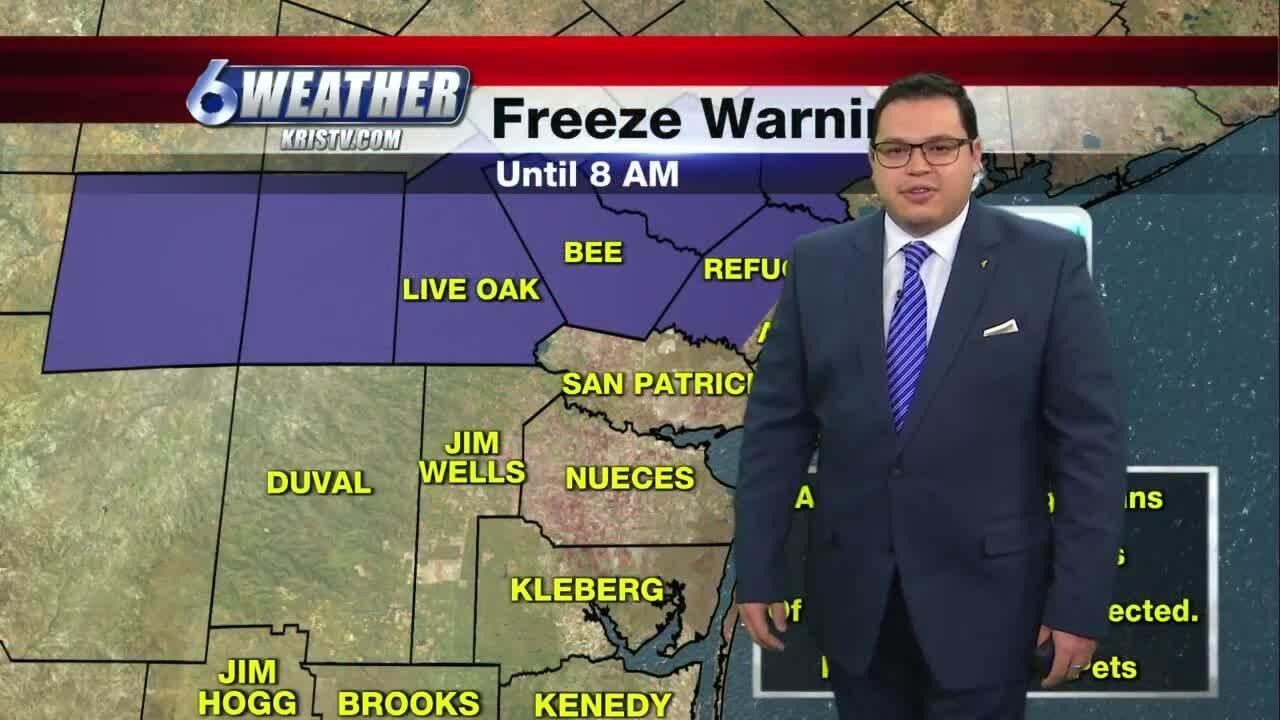 Juan Acuña's weather for Dec. 17, 2020