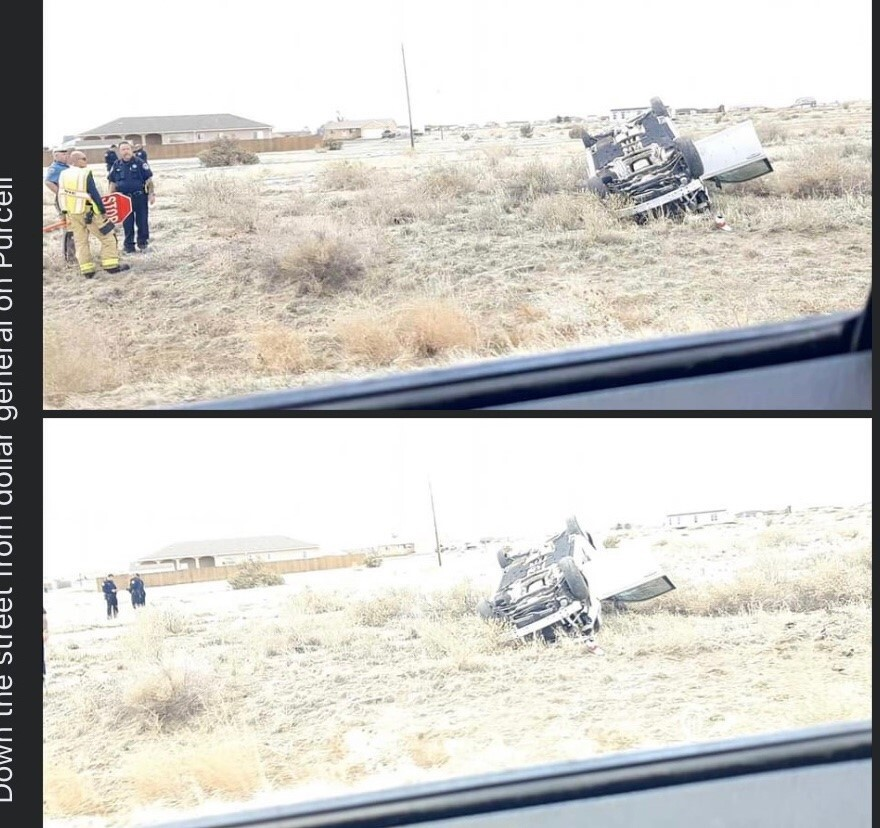 Picture of the accident that left Shaleen Cruz dead on April 18, 2021, provided by her mother.