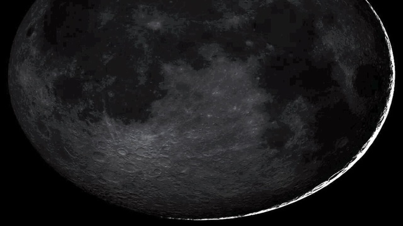 Uncommon 'black moon' taking place tonight, but you might not be able to spot it