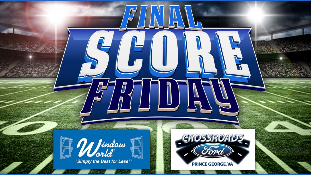 Final Score Friday 2019: Week 12 scoreboard