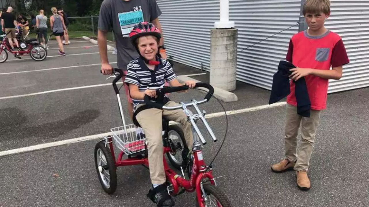 21 Virginia kids gifted adaptive bikes: 'Ride with your brothers and sisters'