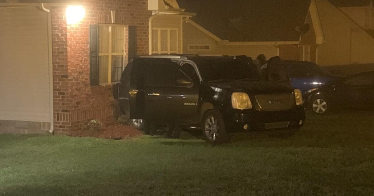 Stolen SUV slams into home in Bordeaux