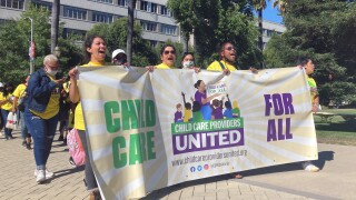 California inks contract with new 40K-member childcare union