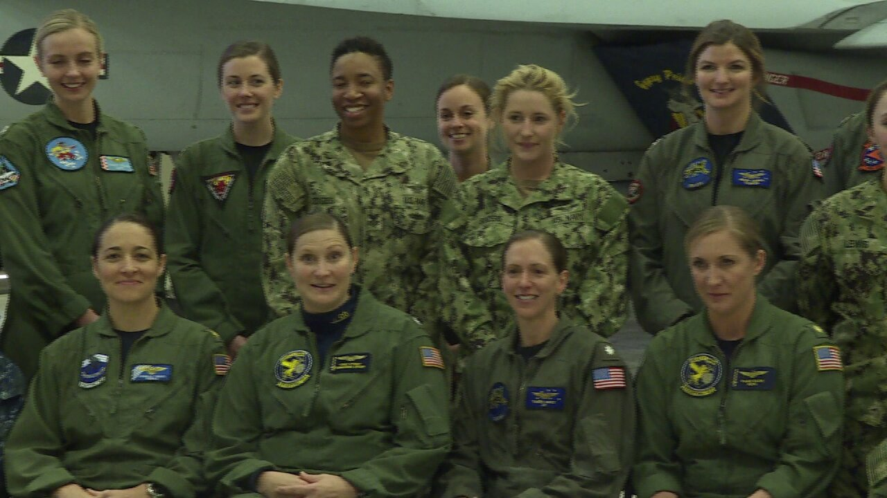 Meet the history-making Virginia aviators behind first all-femaleflyover