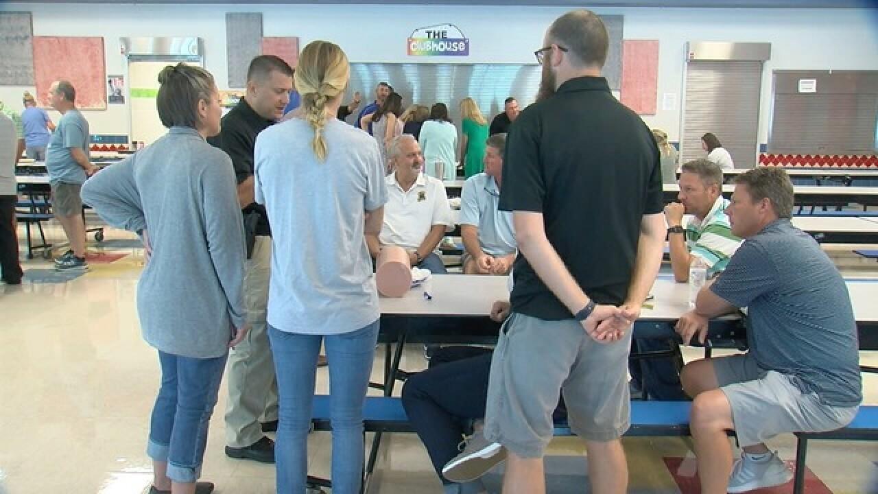 How school officers prepare for shootings