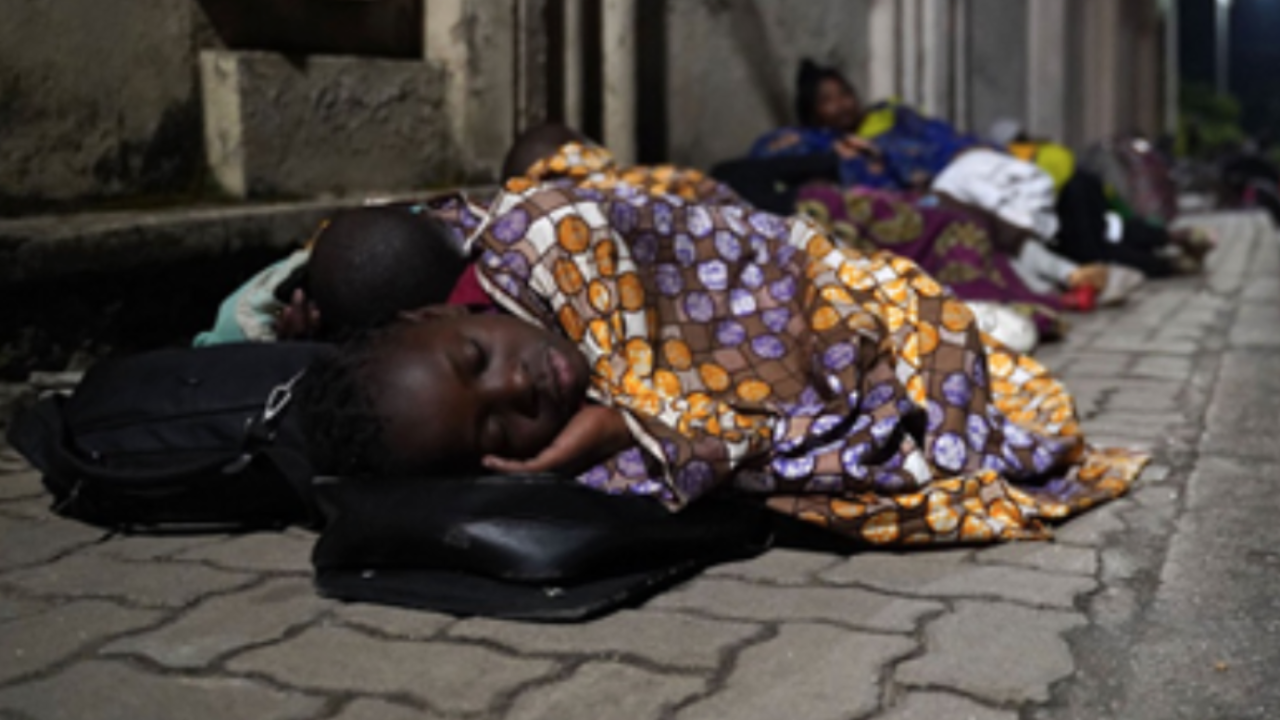 Orphans in the Democratic Republic of Congo need food, water and bedding