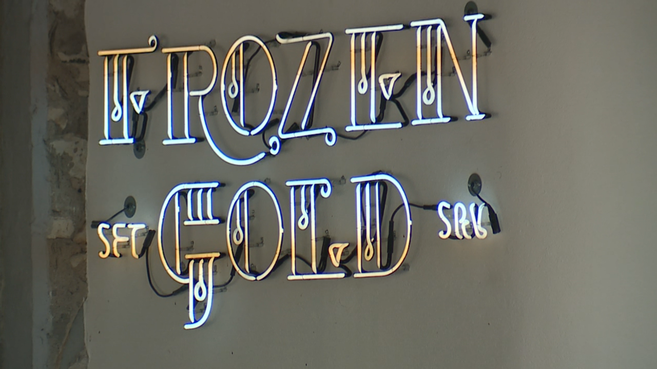 Frozen Gold