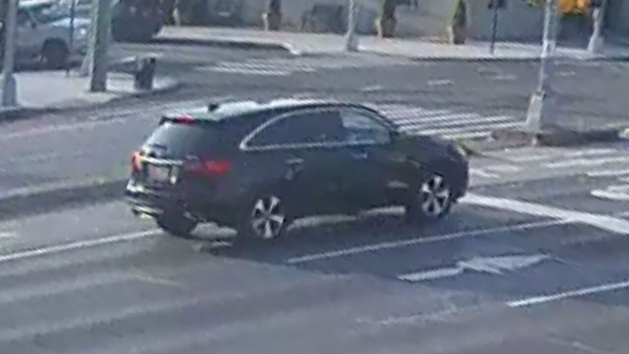 SUV involved in Queens hit-and-run in July 2020
