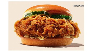 Burger King's new chicken sandwich