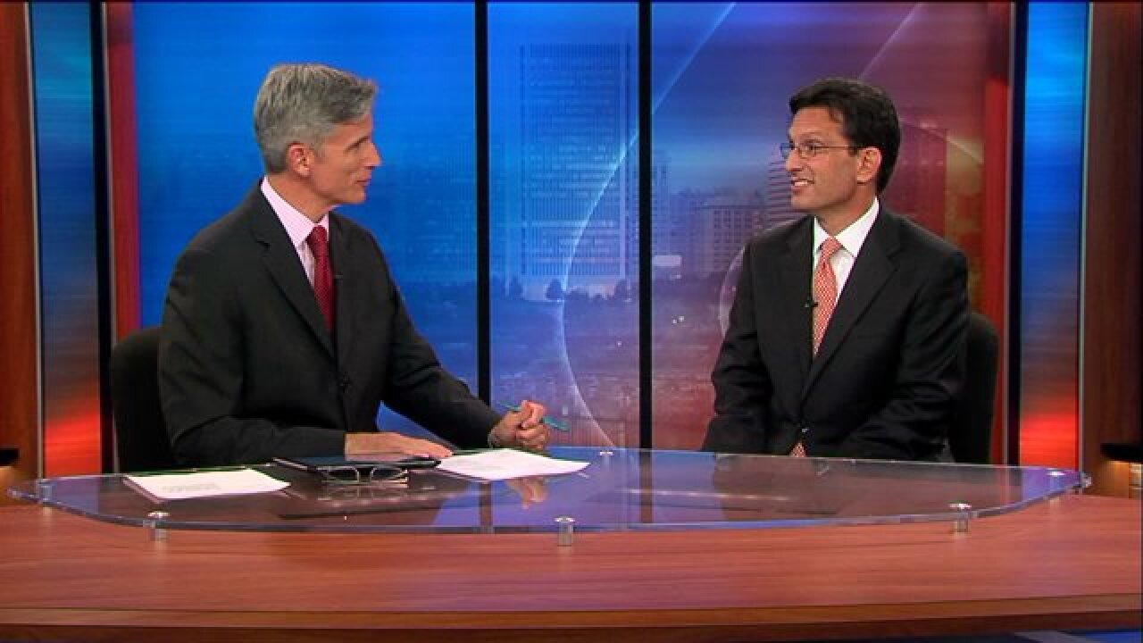 Ahead of Tuesday's primary Congressman Cantor stops by CBS6