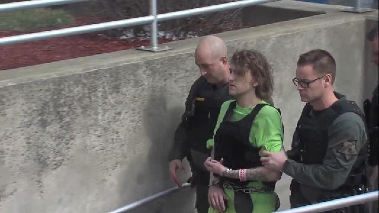 """Deputy shooting suspect has """"no remorse"""""""