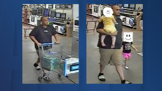 Winter Haven dad steals from walmart Winter Haven PD.png