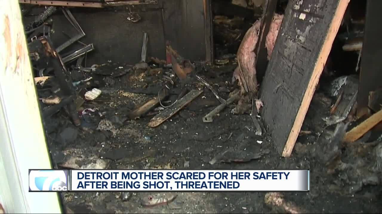 Detroit mother scared for her safety after being shot, threatened.jpg