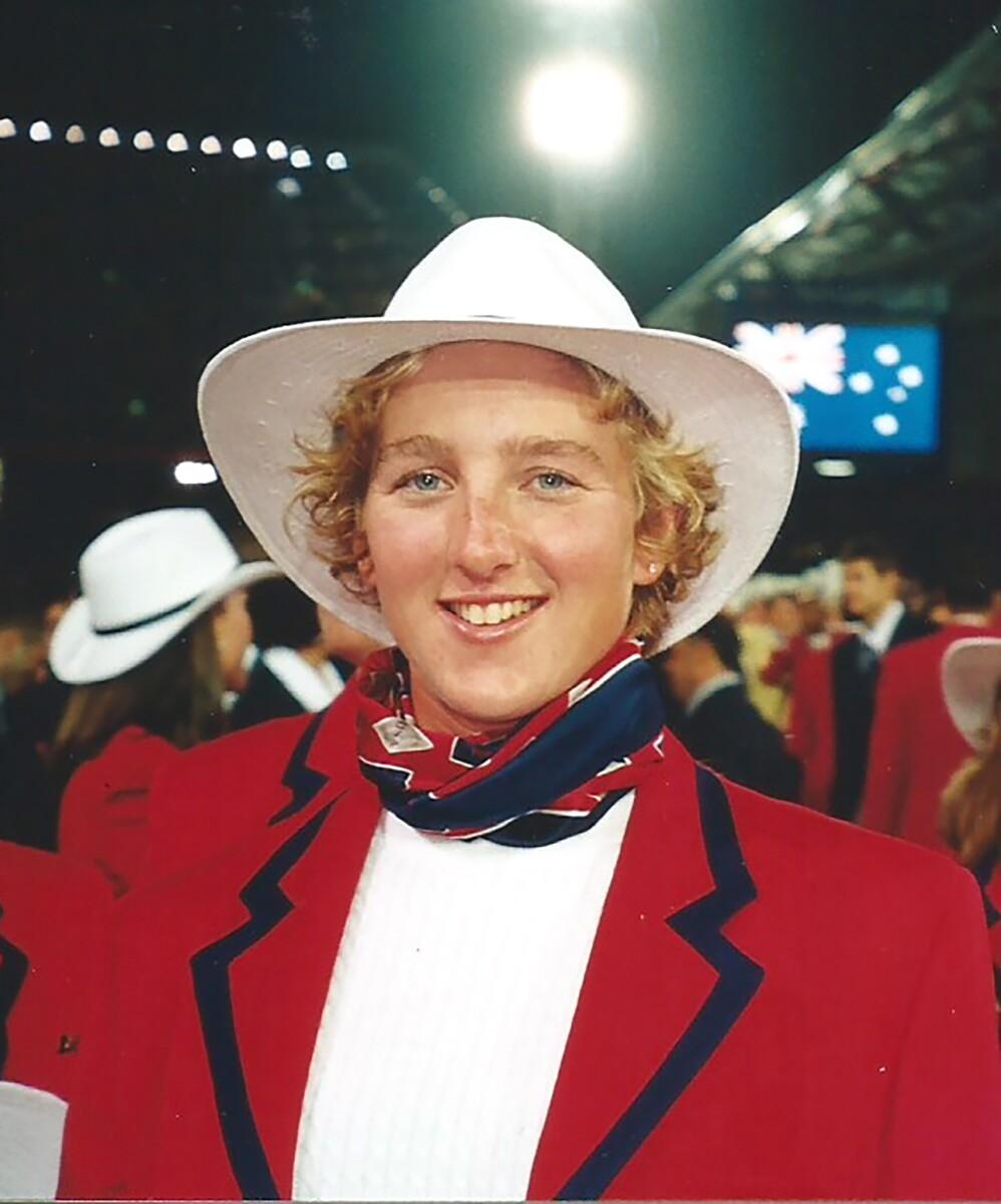 Kelly Salchow McArthur at the Sydney 2000 Summer Olympics