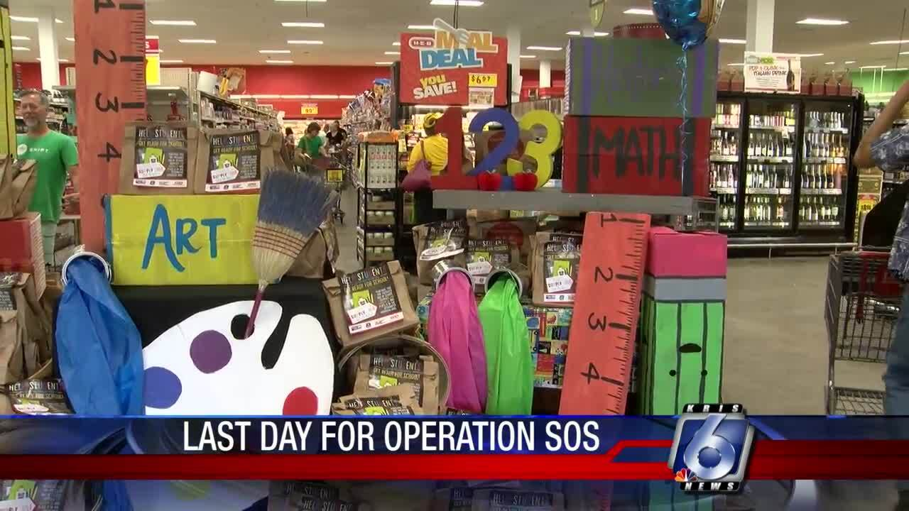 There's still time to help out Operation SOS