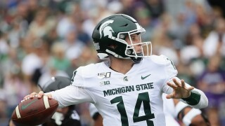 Brian_Lewerke_Michigan State v Northwestern