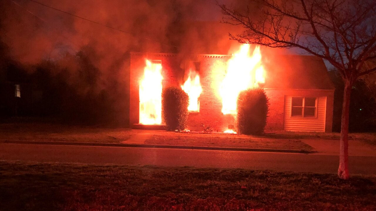 HP 20 block of Langston Boulevard house fire (March 11)