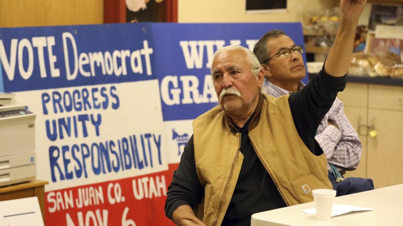 Navajo Nat. allows voting after ballot shortage