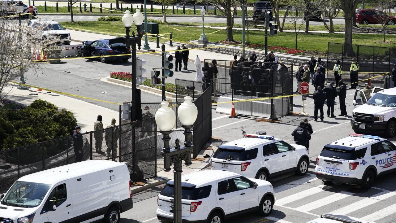 APTOPIX Capitol Lockdown