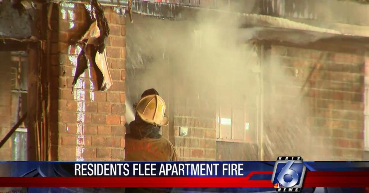 Residents displaced by Annaville apartment fire