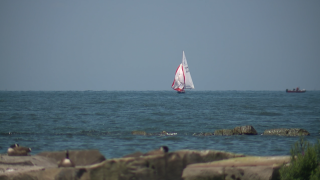 File image: Sail boat on Lake Erie.