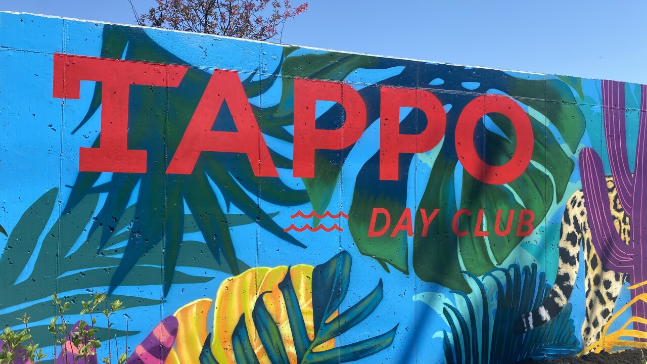 Tappo Day Club in Buffalo's Black Rock neighborhood is set to open May 22
