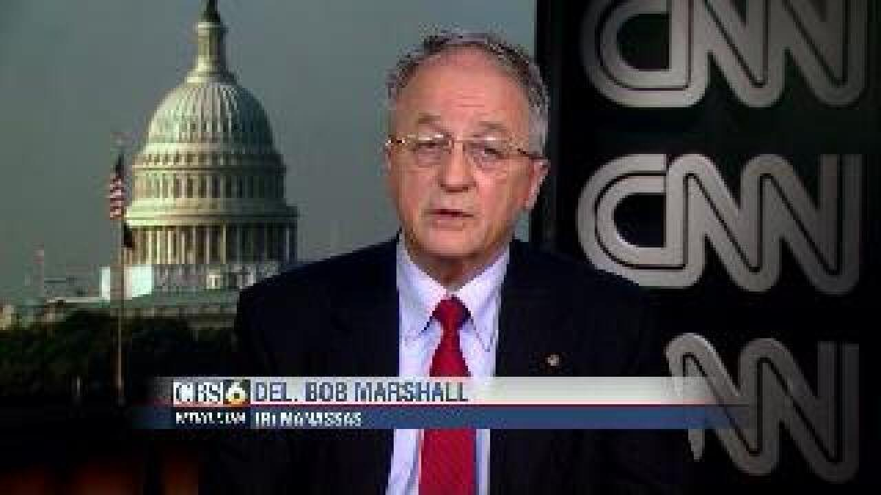 Marshall: 'Sodomy is not a civil right'