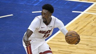 Bam Adebayo Heat Magic Basketball