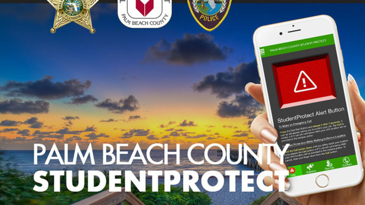 New app hopes to increase safety of students in Palm Beach County